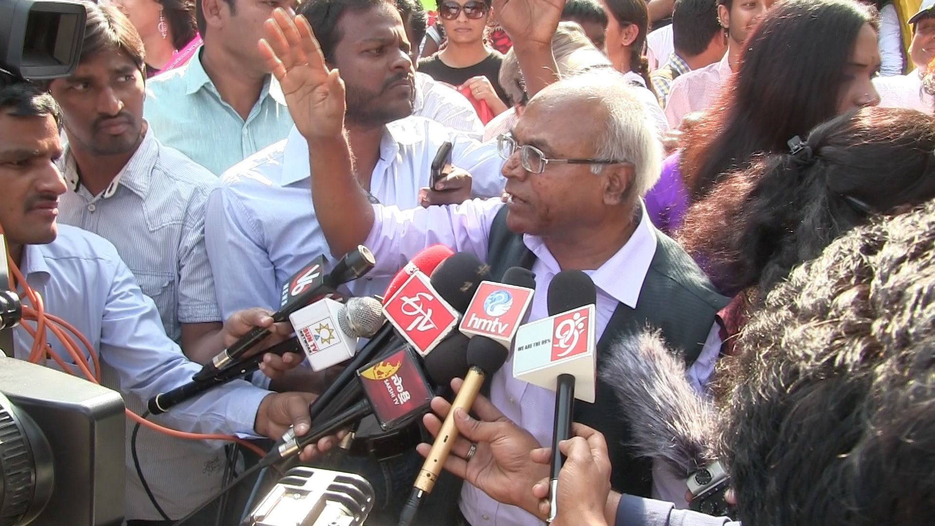 Kancha Ilaiah at Hyderabad Pride 2015
