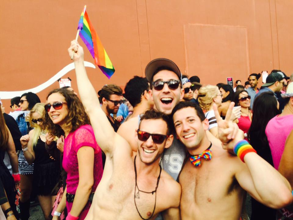 Participants at San Fransisco Pride 2015 celebrating same-sex marriage ruling (Pic by Alan Meraz)