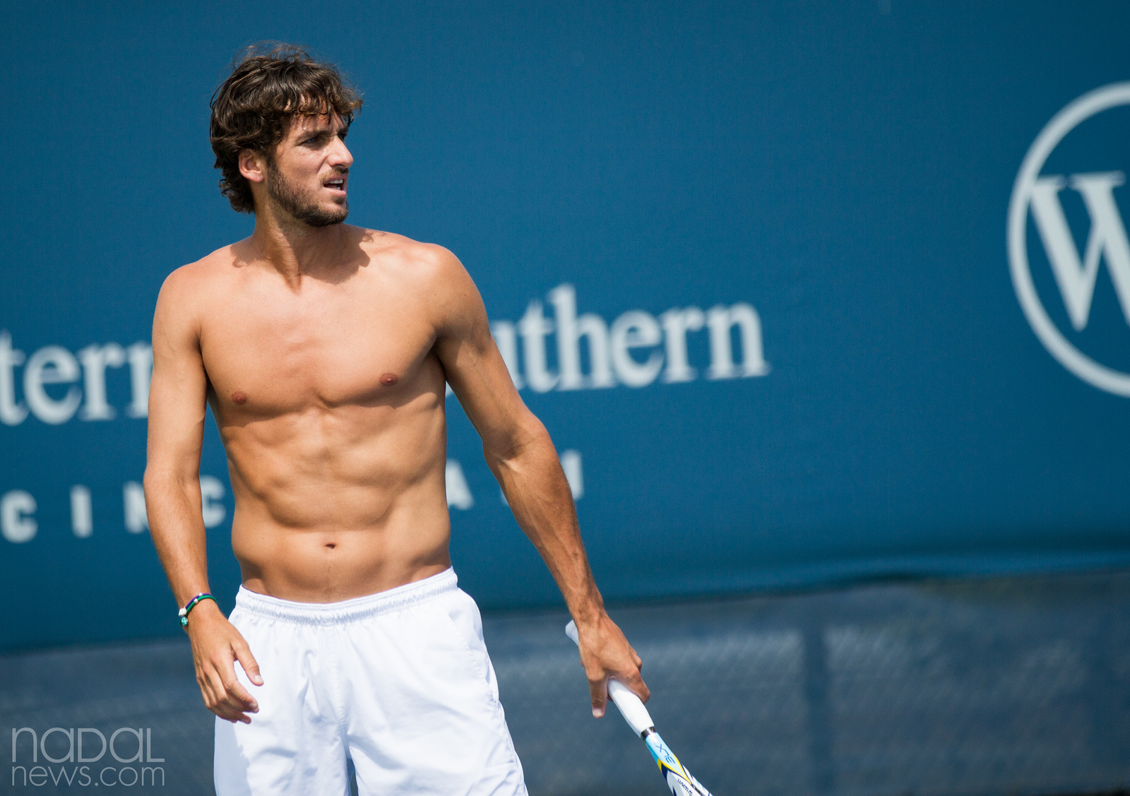 tennis, Feliciano Lopez, shirtless, sexy