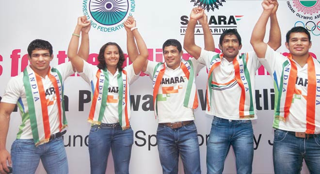 Indian wrestlers need your support