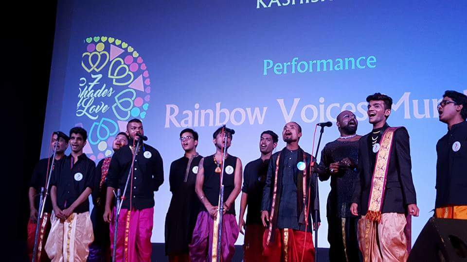 Performance at the Kashish Film Festival