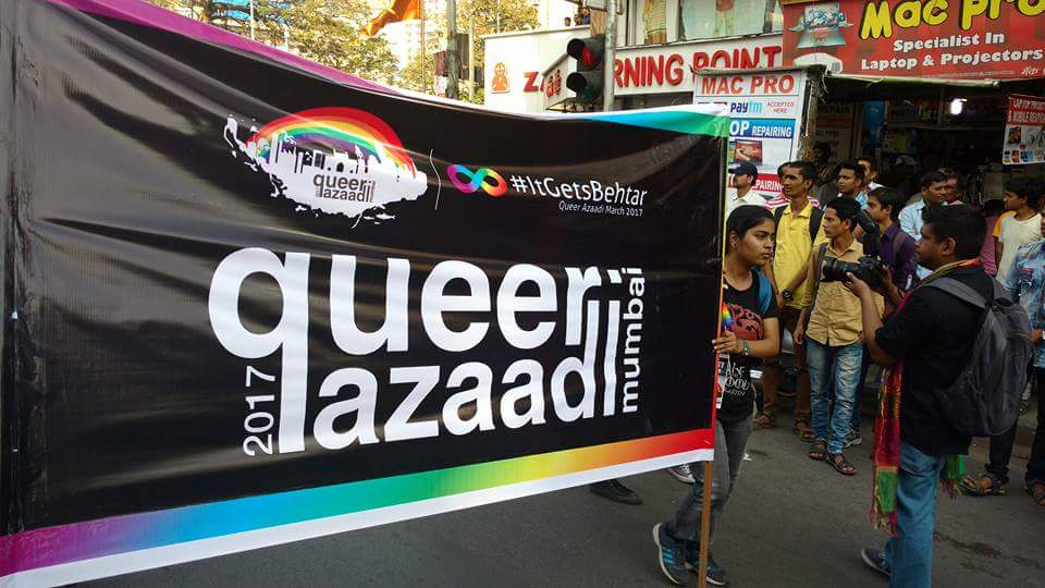 Queer Azaadi March 2017, Mumbai