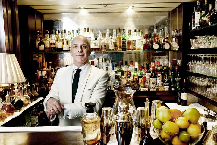 Bar manager Alessandro Palazzi at DUKES Bar in London GAYOT\u0027s Blog