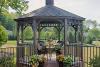 Octagon Wood Gazebos - Country Lane Gazebos