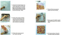 Installing Mosaic Tile | Tile Design Ideas