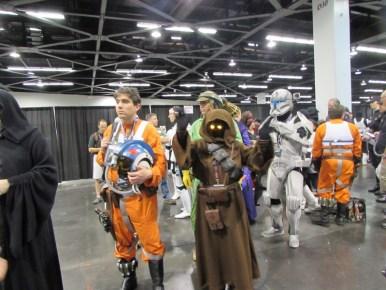 Star Wars Celebration Anaheim Exhibit Hall48