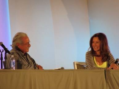 Phoenix Comicon 2015, Edward James Olmos, Mary McDonnell