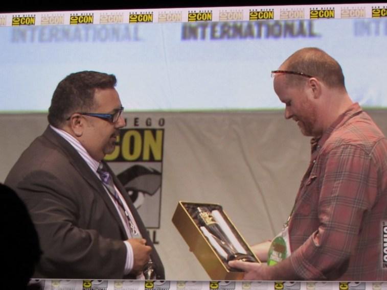 Comic Con 2015 Joss Whedon Saturday Hall H22