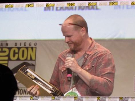 Comic Con 2015 Joss Whedon Saturday Hall H27