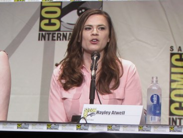 Comic Con 2015 Women Who Kick Ass Saturday Hall H19