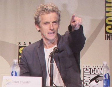 SDCC 2015 Thursday Doctor Who Panel, Peter Capaldi