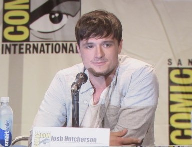 SDCC 2015 Thursday Hunger Games Panel, Josh Hutcherson