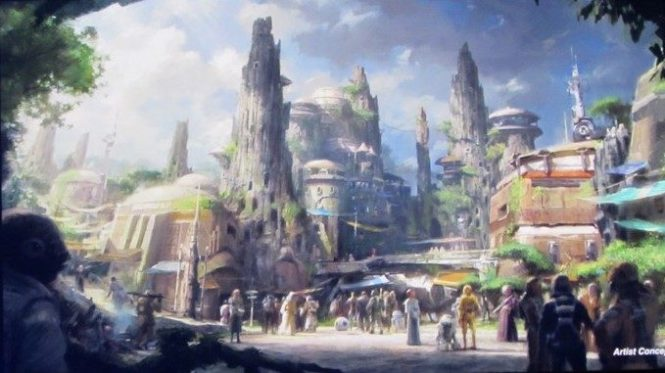 D23 Expo 2015, Star Wars Land