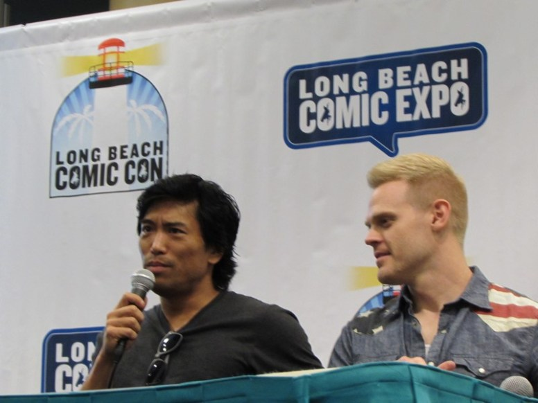 Long Beach Comic Con, LBCC 2015, Daredevil, Peter Shinkoda, Nobu, Tommy Walker, Francis