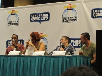 Long Beach Comic Con, LBCC 2015, Buffy the Vampire Slayer, Georges Jeanty, Megan Levens, Christos Gage, Nicholas Brendon