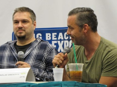 Long Beach Comic Con, LBCC 2015, Buffy the Vampire Slayer, Christos Gage, Nicholas Brendon