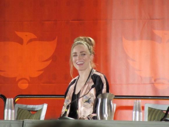 Phoenix Comicon, Caity Lotz