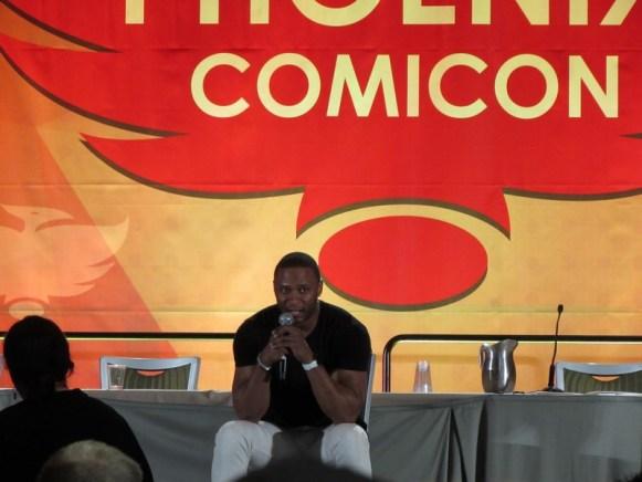 Phoenix Comicon 2016, David Ramsey