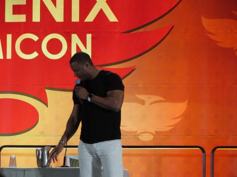 Phoenix Comicon 2016, David Ramsey