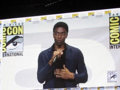 SDCC 2016, Marvel Studios, Black Panther, Chadwick Boseman