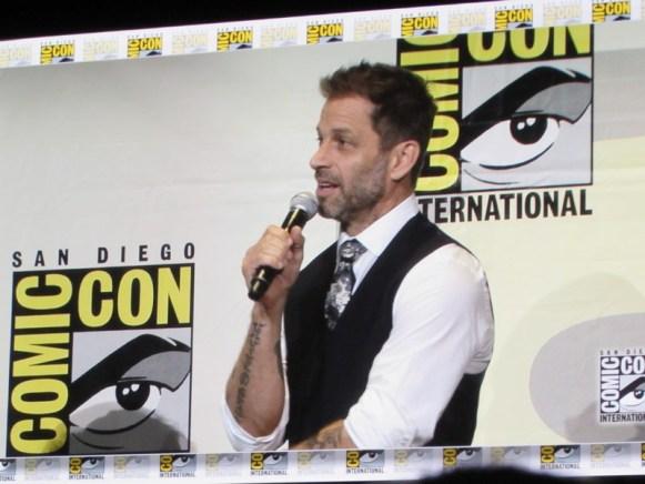 SDCC 2016, Warner Bros, DC movies, Zack Snyder