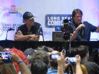 Long Beach Comic Con 2016, Firefly, Adam Baldwin, Nathan Fillion