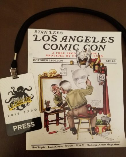 Stan Lee's LA Comic Con 2016 program