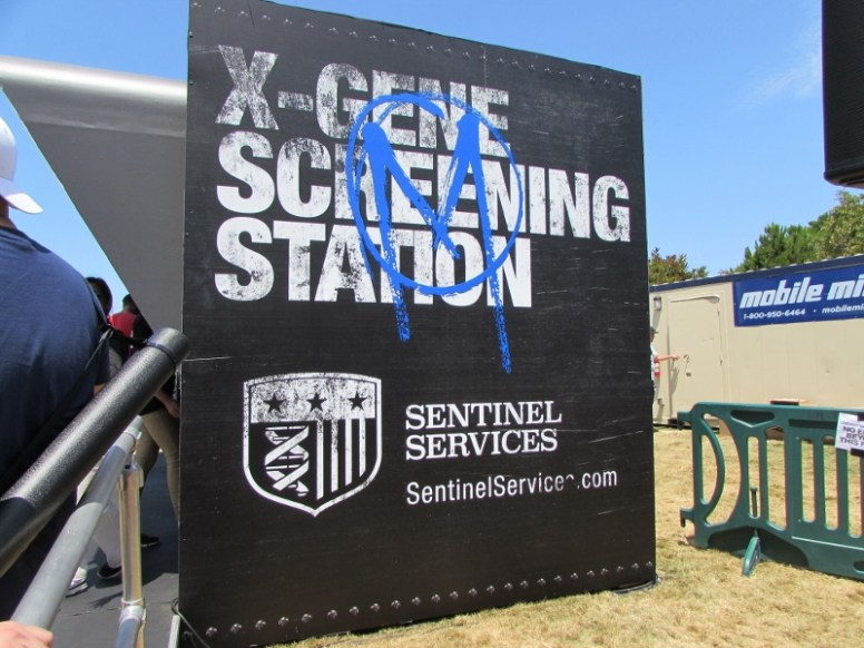 SDCC 2017, The Gifted, X-Gene Screening Station