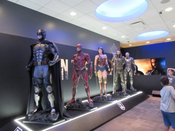 Justice League in Times Square