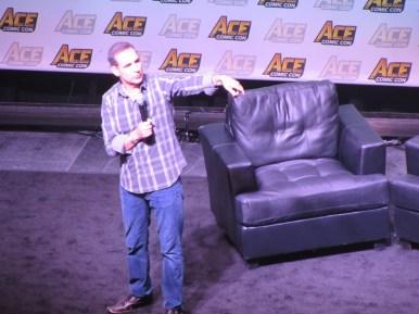 Todd McFarlane at Ace Comic Con
