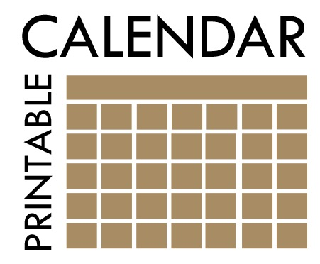 PRINTABLE CALENDARS Garfield County Libraries