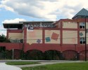The former Shooters nightclub on the Providence waterfront.