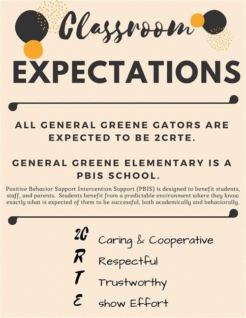 Ms Ralston / Classroom Expectations