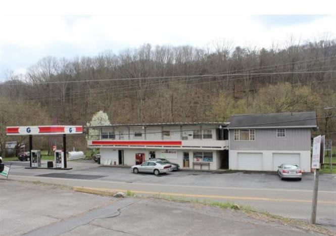 Gate City, VA, Commercial Property with Gas Station, Deli