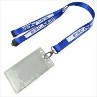 id badge holder lanyard   Custom neck work id badge holder ...