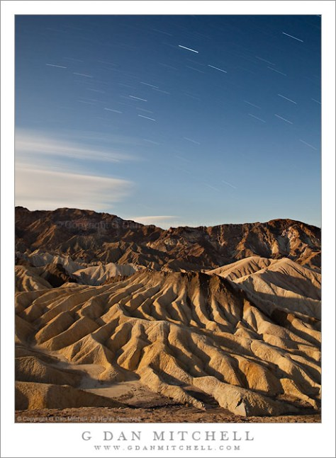 The Manifold Star Trails - Zabriskie Point