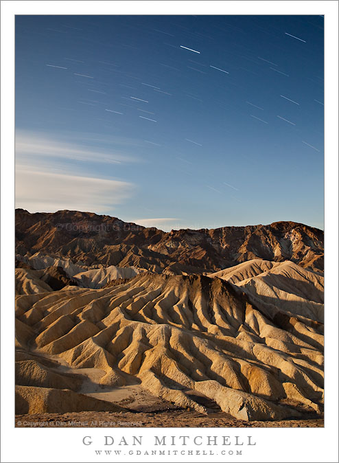 The Manifold, Star Trails - Zabriskie Point