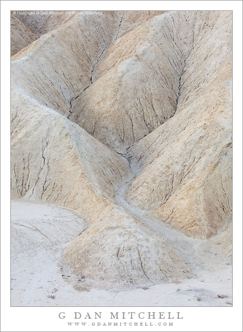 Edge of Gower Wash, Zabriskie Point