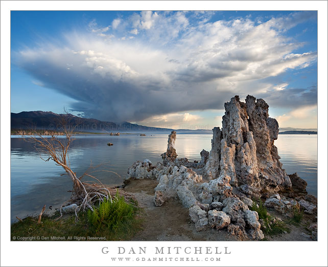 Morning Squall, South Tufa