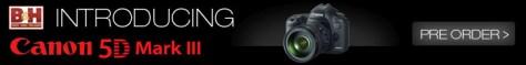 Pre-order Canon EOS 5D Mark III DSLR
