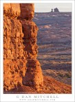 Balanced Rock and Cliff, Sunrise