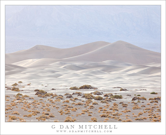 Mesquite Dunes, Cottonwood Mountains