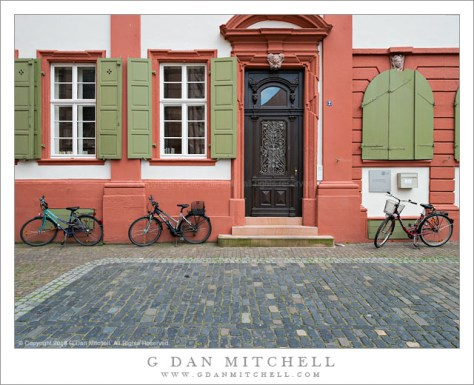 Bicycles, Heidelberg