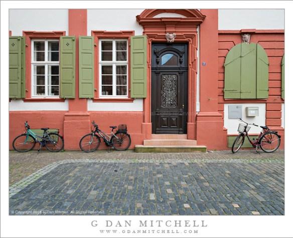 Bicycles, Heidelberg