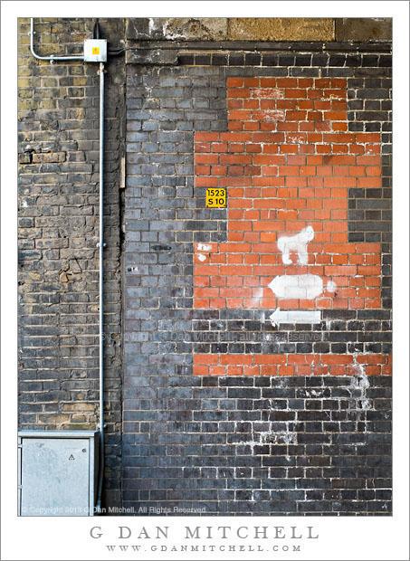 Brick Wall, London