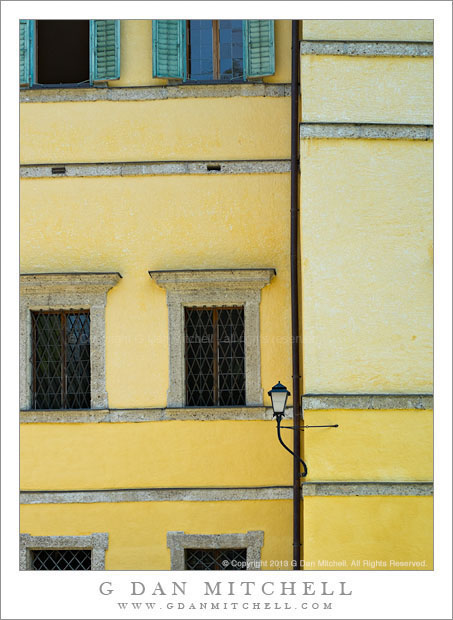 Yellow Wall, Hellbrunn Palace