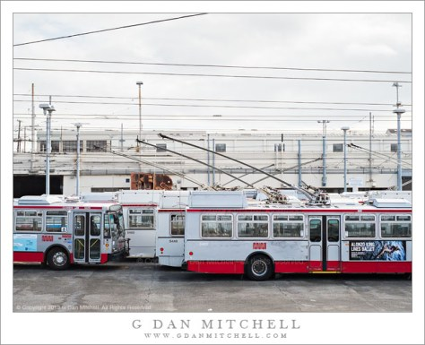 MUNI Bus Yard