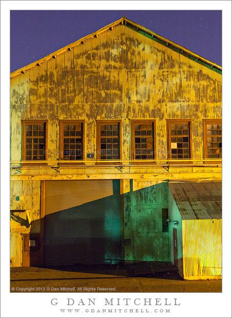 Yellow Building, Green Shadow