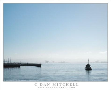 Blue Water, Blue Sky, boat