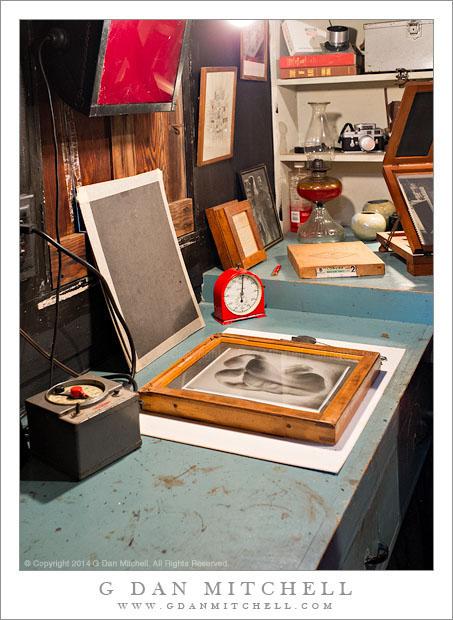 Edward Weston Darkroom
